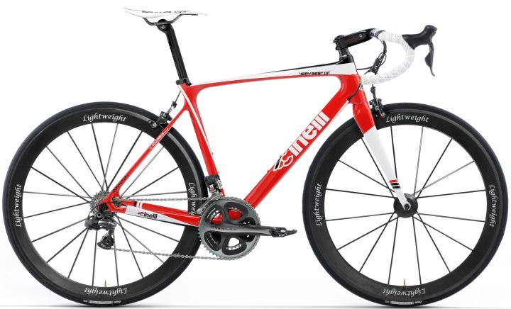 Cinelli Very best of red dura ace lightweight 2014