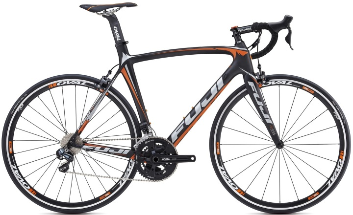 FUJI SST 1.3 ultegra di2 2014 orange black