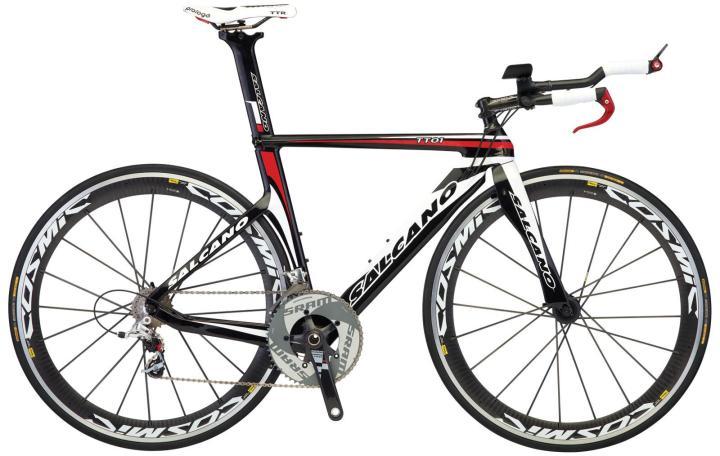 Salcano TT01 tt red black sram 2014