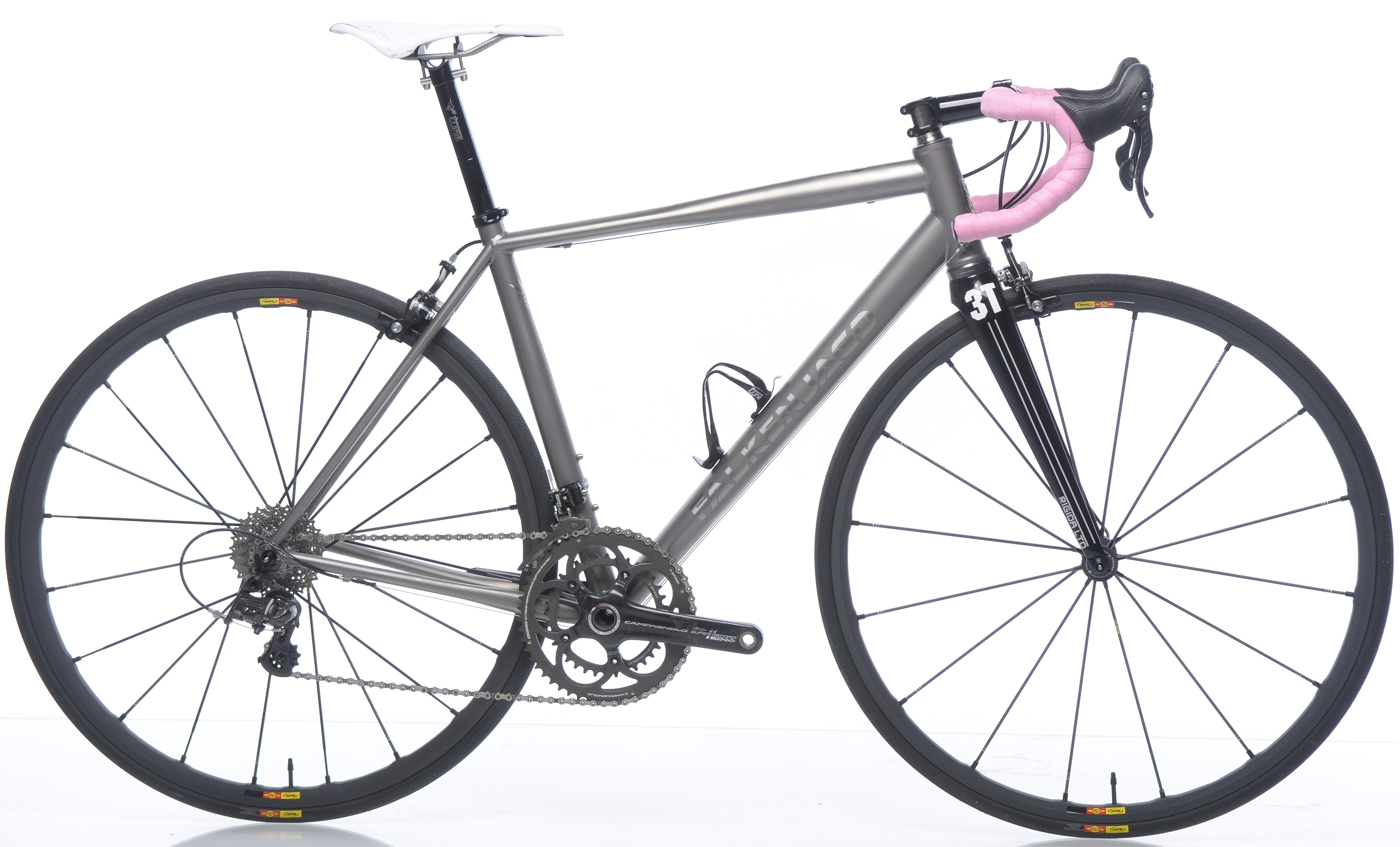 2015 Falkenjagd special editio ti campy pinkneuroticarnutzDean Ti road bike 2013 campy record