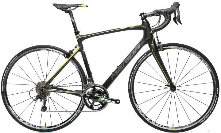 2015 Merida Ride CF 95 black yellow lime ultegra