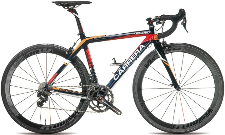 Carrera Veleno RN campy super record 2014 orange black