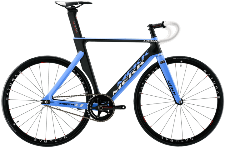 Mekk Pista C1 light blue track 2014
