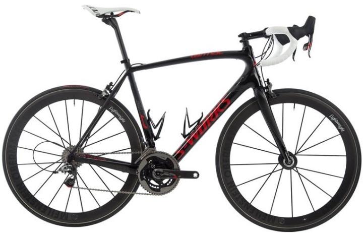 specialized tarmac red black sram 2014 lightweight wheels