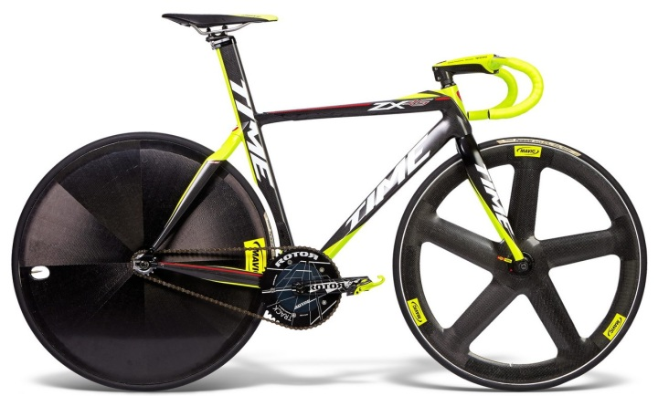 Time ZXrs-Pista track yellow black 2015