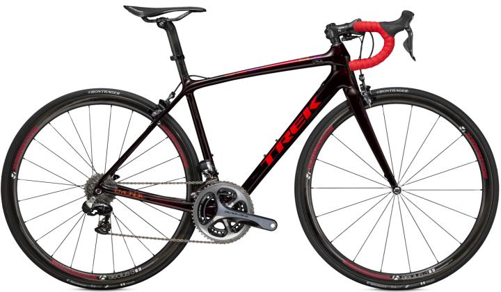 Trek Emonda SLR 9 WSD dura ace red black 2015