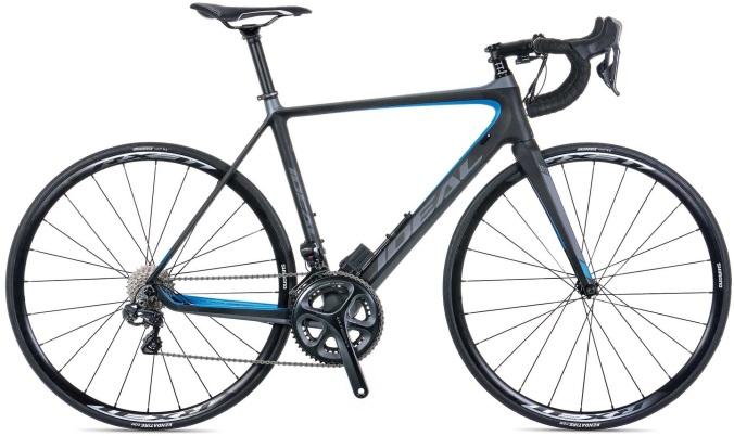 2015 Ideal Stage Team ultegra di2 grey light blue