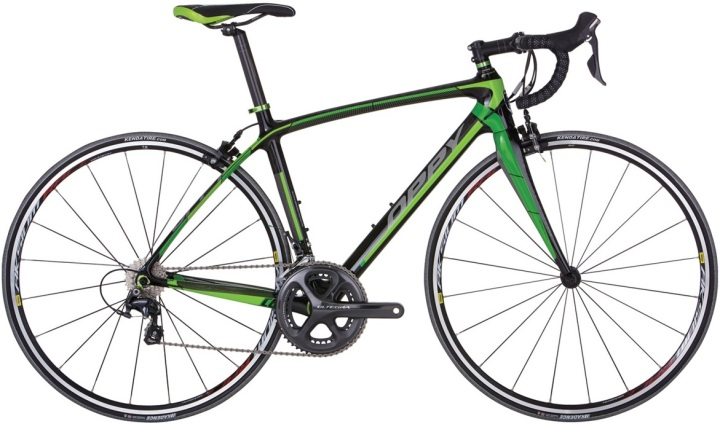 2015 Malvern Star Oppy C6 ultegra green lime black