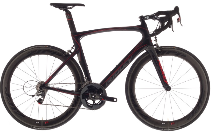 2015 Ridley Noah SL black red sram