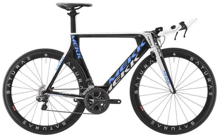 Mekk TriPro Lite 7.0 tt white blue black 2015