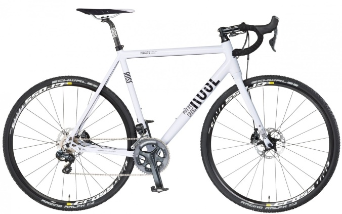 ROSE PRO DX CROSS-3100 2014 white disc cx