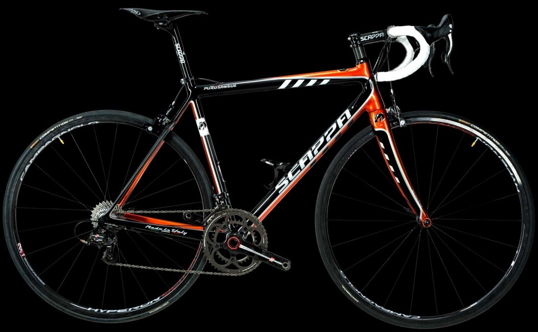 Scappa Purosangue Orange_2015 campy super record blackneuroticarnutzbaum corretto black orange sram red 2013