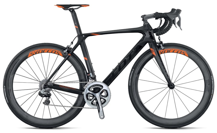 Scott Foil Premium 2015 dura di2 black orange
