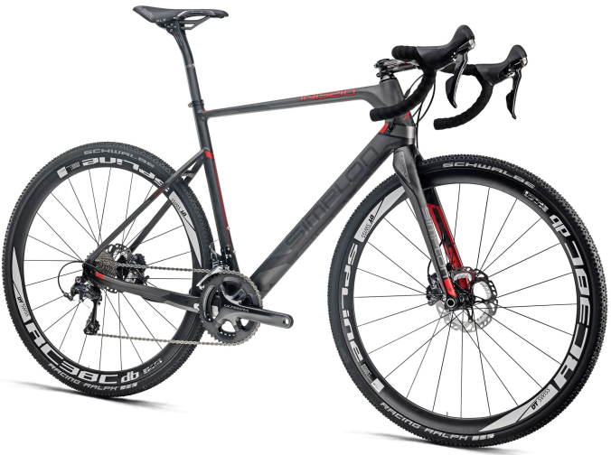 Simplon INISSIO Ultegra CX-carbon- grey 2015