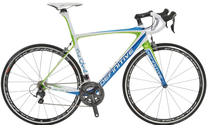 2014 Definitive the One lime light blue ultegra
