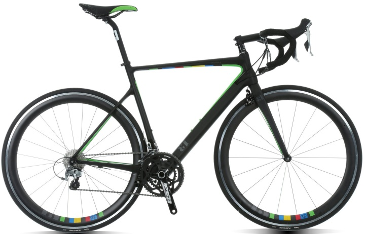 2015 13bikes Intuition Beta black green shimano 105