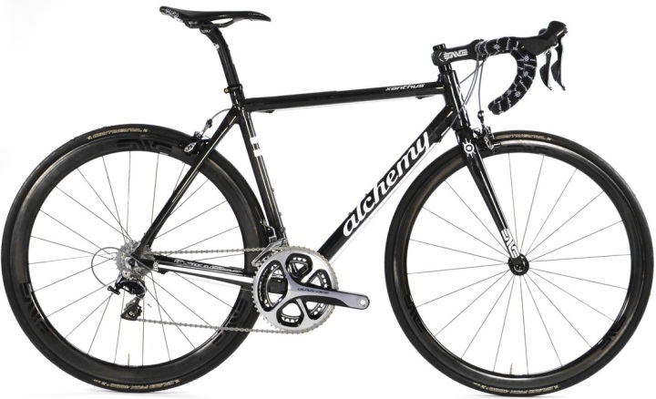 2015 Alchemy Xanthus black carbon dura ace