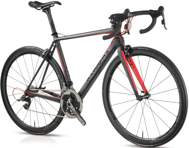 2015 Carrera SL black red sram