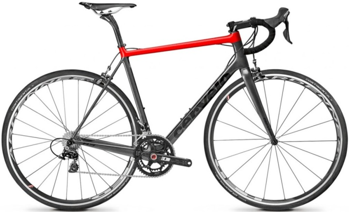 2015 Cervelo R5 dura ace black red