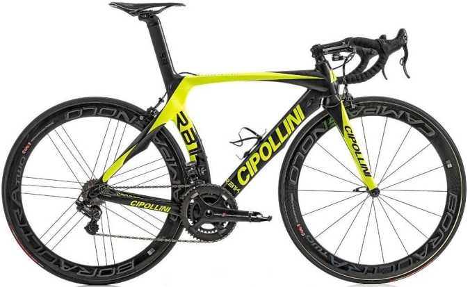 2015 Cipollini rb1k yellow black campy