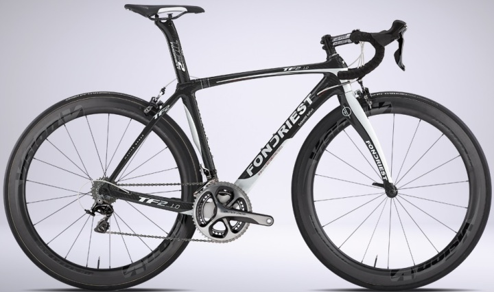 2015 Fondriest TF2 1.0 black white dura ace