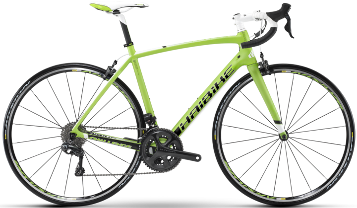 2015 Haibike Challenge RX ultegra lime