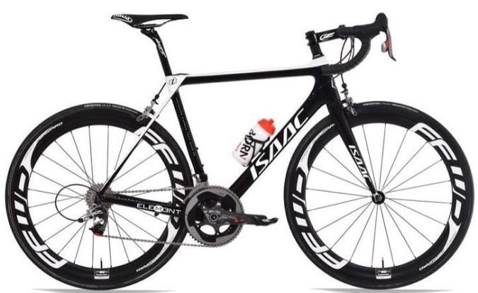 2015 Isaac Element sram red white black