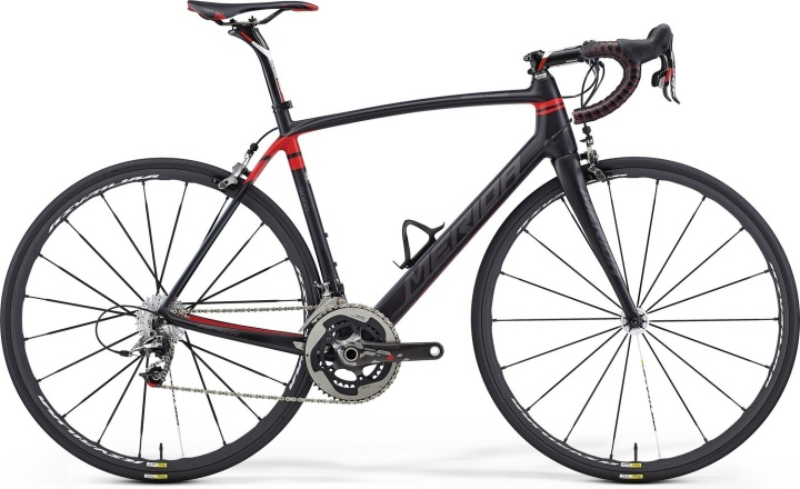 2015 Merida Scultura black red sram