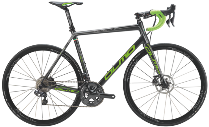2015 Olmo Personal ultegra disc green