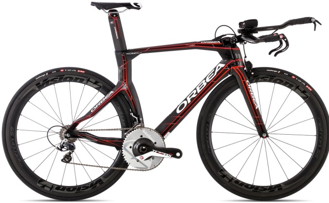 2015 Orbea ORDU M-LTD tt black red dura ace
