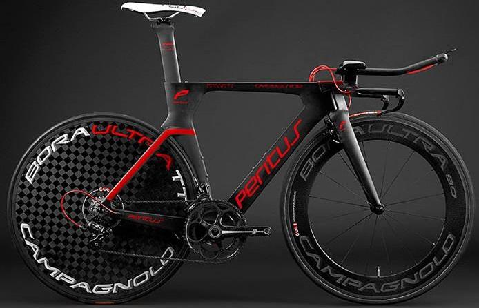 2015 Peritus Time machine black red tt campy