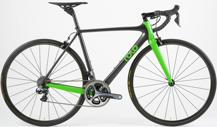 2015 Rolo dura ace lime