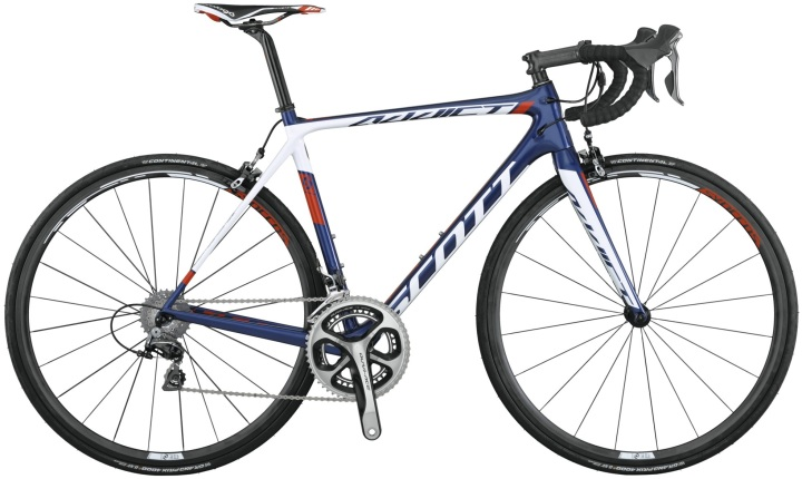 2015 Scott Addict Team issue dura blue white
