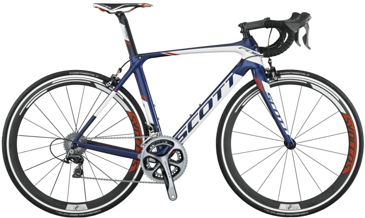 2015 Scott Foil Team Issue dura ace blue white