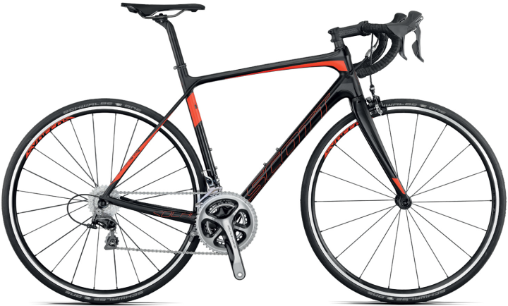 2015 Scott Solace 10 dura orange black