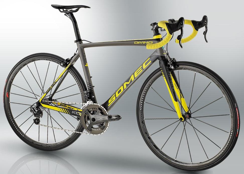 2015 Somec Divino yellow campyneuroticarnutz2015 Canyon Ultimate CF Mavic edition ultegra black yellow