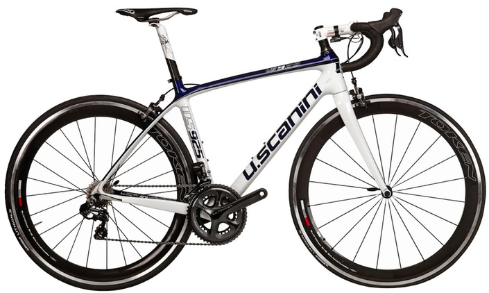 2015 U. Scanini 925 ultegra blue white