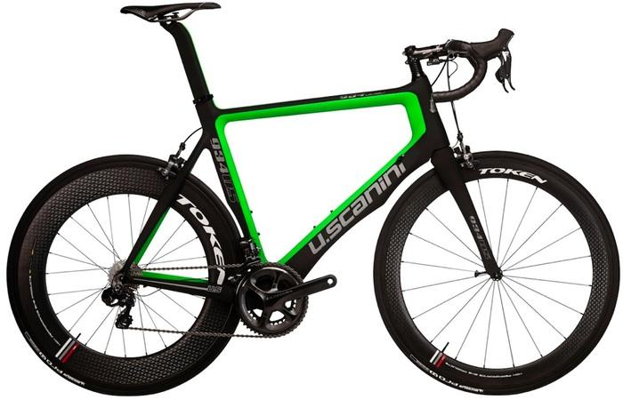 2015 U. Scanini 934 ultegra di2 green black