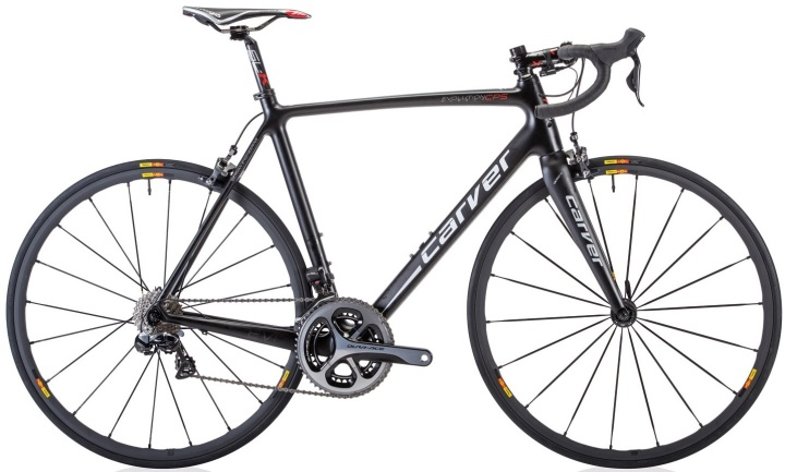Carver Evolution-Carbon-CPS_2014 dura ace di2 black