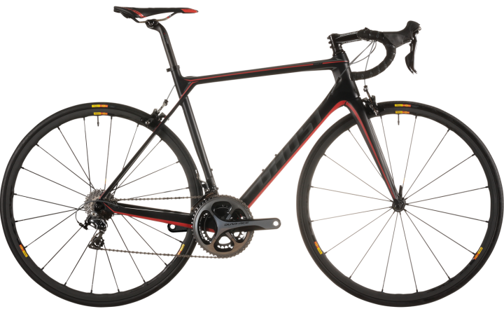 Ghost NIVOLET_9_LC_black-red-darkgrey dura ace 2015