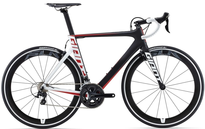 Giant Propel Advanced Pro 2 2015 black red white shimano 105