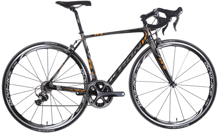 Kron R1 2014 black orange dura ace
