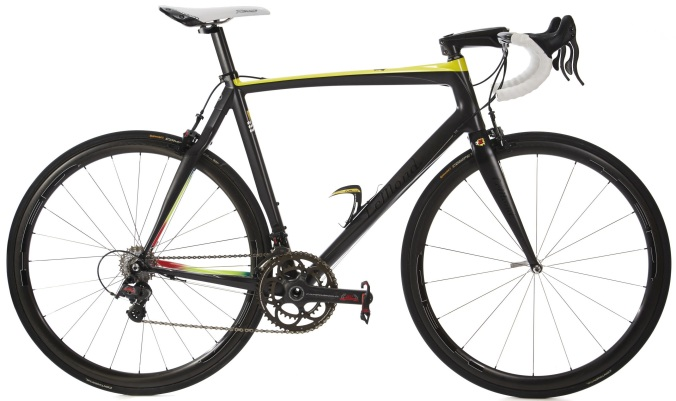 Lemond 90 campy 80th 2014 black red yellow
