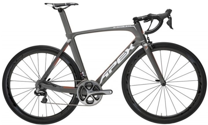 2015 Apex Blackbuck black grey dura ace