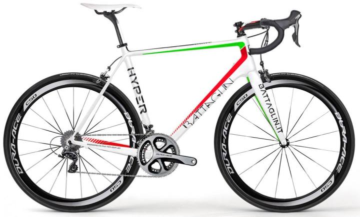 2015 Battaglin Hyper italia red green white dura ace