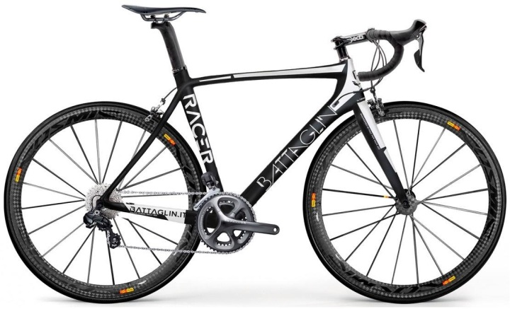 2015 Battaglin Racer ultegra black white