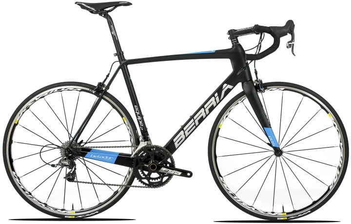 2015 Berria Belador Equipe 2 light blue black sram