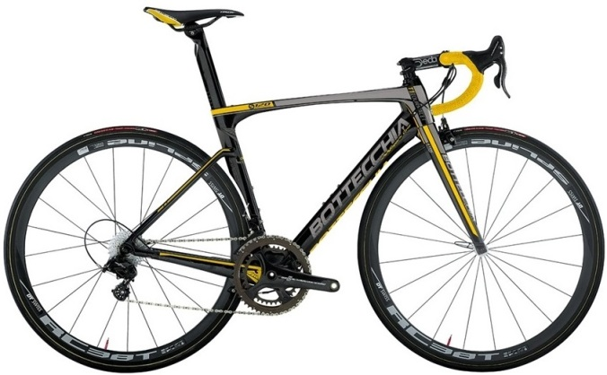 2015 Bottecchia T1 Tourmalet yellow black campy