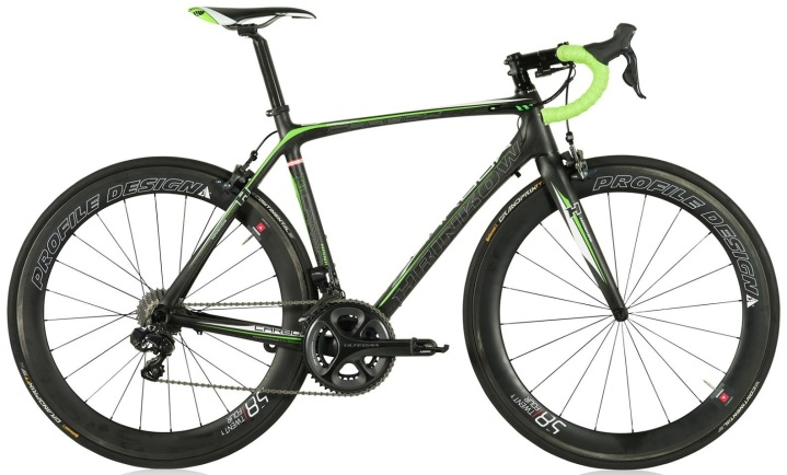 2015 Hrinkow Carbow Pro lime black ultegra