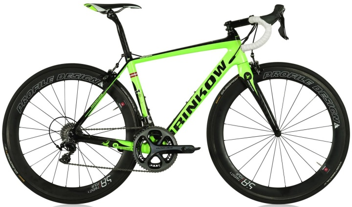 2015 Hrinkow Scorpion lime dura ace
